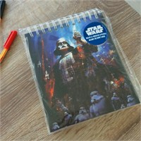 Star Wars Darth Vader Spiral Musical Notebook Müzikal Defter