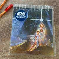 Star Wars Spiral Musical Notebook Müzikal Defter