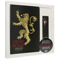 Game Of Thrones Notebook & Bookmark Set Lannister Defter