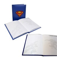 Superman Notebook With Light Işıklı Defter