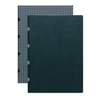 Paper-Oh 9245-2 A5 İkili Kareli B/G-G/B Defter