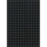 Paper-Oh 9053-3 Quadro B5 Çizgisiz Black On Grey Defter