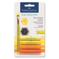Faber-Castell Gelato Mum Boya Sarı Tonları 4 renk