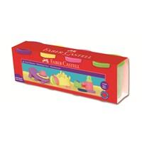 Faber-Castell Silindir Oyun Hamurları 4 Pastel Renk