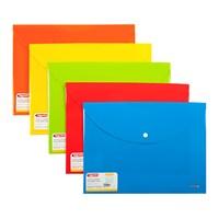 Bigpoint Çıtçıtlı Dosya Lolly A4 Kırmızı