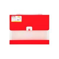 Bigpoint Kırmızı Körüklü Dosya 13 Cepli Lolly