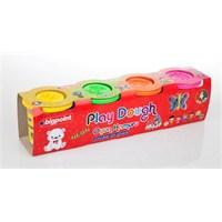 Bigpoint Oyun Hamuru Neon 4'Lü Set