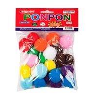 Bigpoint Ponpon 5 Cm 10 Renk 25'Li