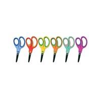 Lets Küt Uçlu Öğrenci Makası 6 Farklı Renk L-20110
