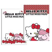 Keskin 322502-60 Hello Kitty Little A4 40 Yaprak Kareli Plastik Kapak Defter