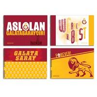 Keskin 300215-63 Galatasaray 25x35 cm Resim Defteri 15 Yaprak