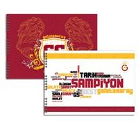 Keskin 300315-63 Galatasaray 35x50 cm Resim Defteri 15 Yaprak