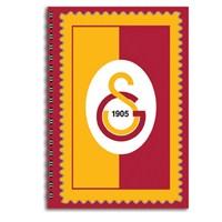 Keskin 320122G Galatasaray Plastik Kapak Spiralli A4 80 Yaprak Kareli