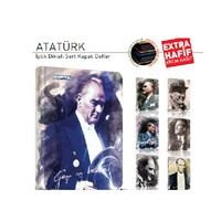 Gıpta 2146 Atatürk Sert Kapak A6 80 Yaprak Çizgili Defter