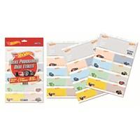 Gıpta 5411 Hot Wheels Ders Programlı Okul Etiketi 20 Yaprak