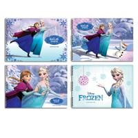 Keskin 300215-71 Frozen 25 X 35 Cm 15 Yaprak Resim Defteri