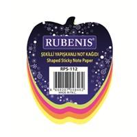 Rubenis Rps112 Not Kağıdı Elma Desenli Fosforlu