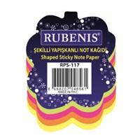 Rubenis Rps117 Not Kağıdı Yaprak Desenli Fosforlu