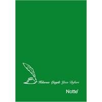 Notte 11148Y A5 Güzelyazı Defteri 32 Yaprak Plastik Yeşil Kapak