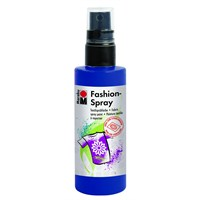 Marabu Fashion Spray Kumaş Boyası 100 Ml Gece Mavisi 1719 50 293
