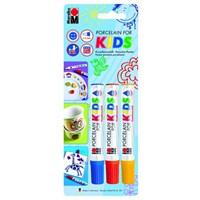 Marabu Porselen Marker Kalem Çocuk 3 X 1-3Mm 12500080