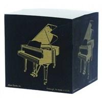 Kuyruklu Piyano Küp Notluk - Siyah
