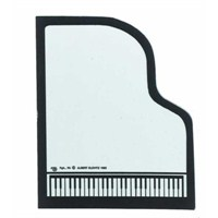Kuyruklu Piyano Şeklinde Notluk