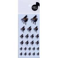 Kuyruklu Piyano Stiker