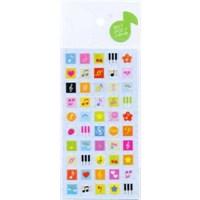 Renkli Müzik Stiker