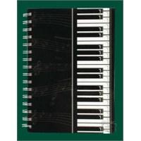 Piyano Tuşeli Spiralli Defter