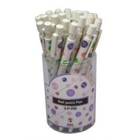 Renkli Notalı Tükenmez Kalem