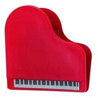 Piyano Şeklinde Kırmızı Mıknatıslı Kıskaç