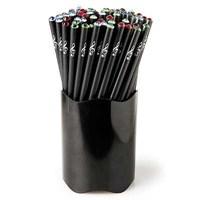 Renkli Kristal Başlıklı Kurşun Kalem
