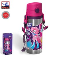 My Little Pony Equestria Girls Pipetli Çelik Matara (600 Ml)