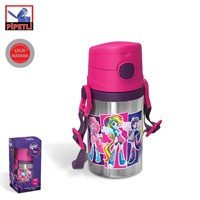 My Little Pony Equestria Girls Pipetli Çelik Matara (400 Ml)