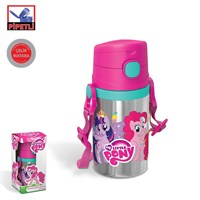 My Little Pony Pipetli Çelik Matara (400 Ml)