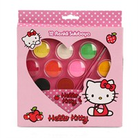 Hello Kitty 12'Li Kalpli Sulu Boya 25815