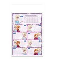 Keskin 220120-71 Frozen Ders Programlı Etiket 20 Li