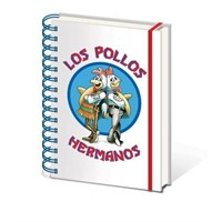 A5 Defter Breaking Bad - Los Pollos Hermanos