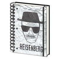 A5 Defter Breaking Bad Heisenberg
