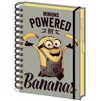 A5 Proje Defteri - Despicable Me Powered By Bananas SR71861