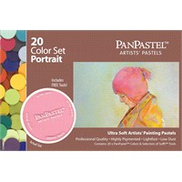 Panpastel Set - 20 Colors Portrait - 30203