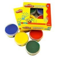Play-Doh 4 Renk Parmak Boyası 50 Ml
