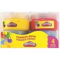 Play-Doh 4 Renk Parmak Boyası 70 Ml