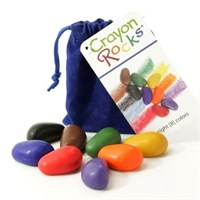 Crayon Rocks - 8'Li Kadife Kese
