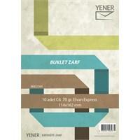 Yener M002389 Elvan Zarf 114 x 162 mm 70 gr Expres 10'lu