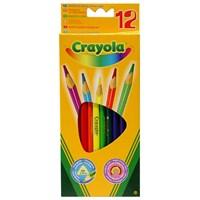 Crayola 12 Renk Kuru Boya Kalemi (3612)