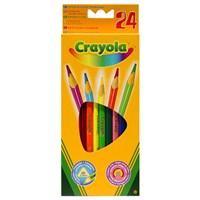 Crayola 24 Renk Kuru Boya Kalemi 3624