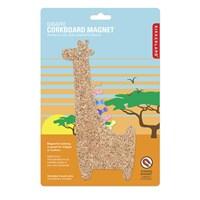 Kikkerland Manyetik Mantar Pano Zürafa