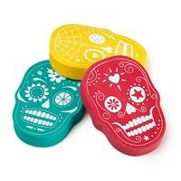 Npw Sugar Skull Eraser Set